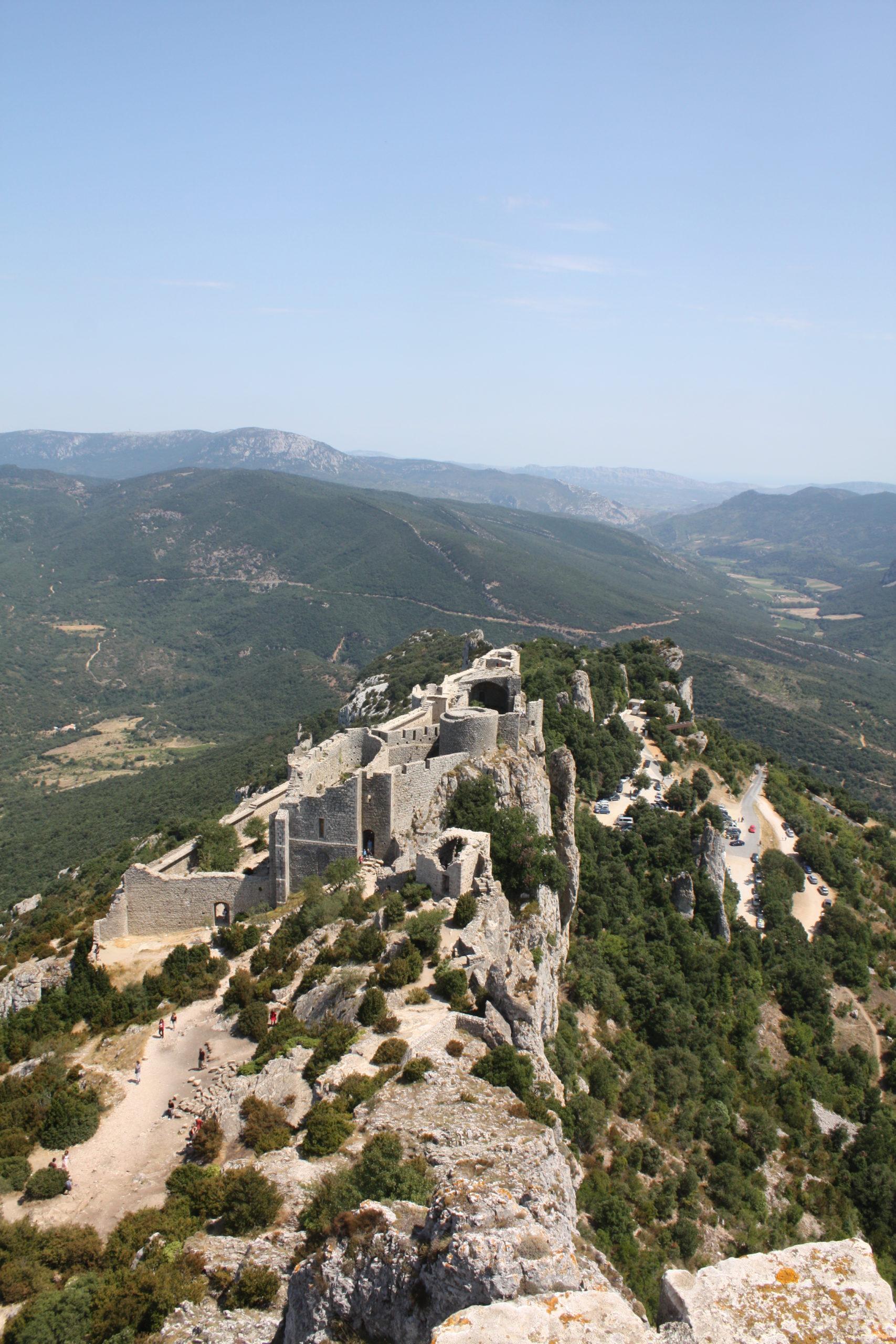 Voyage scolaire Témoignage Collège de Ferrette – Les châteaux Cathares, Occitanie