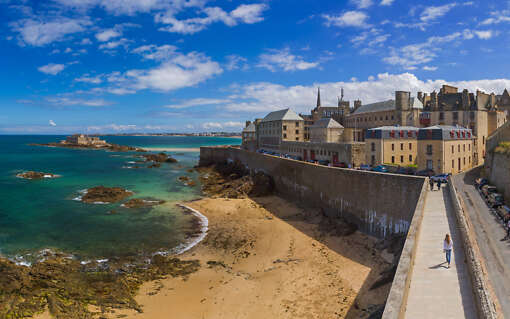 Saint Malo and the Mont Saint Michel